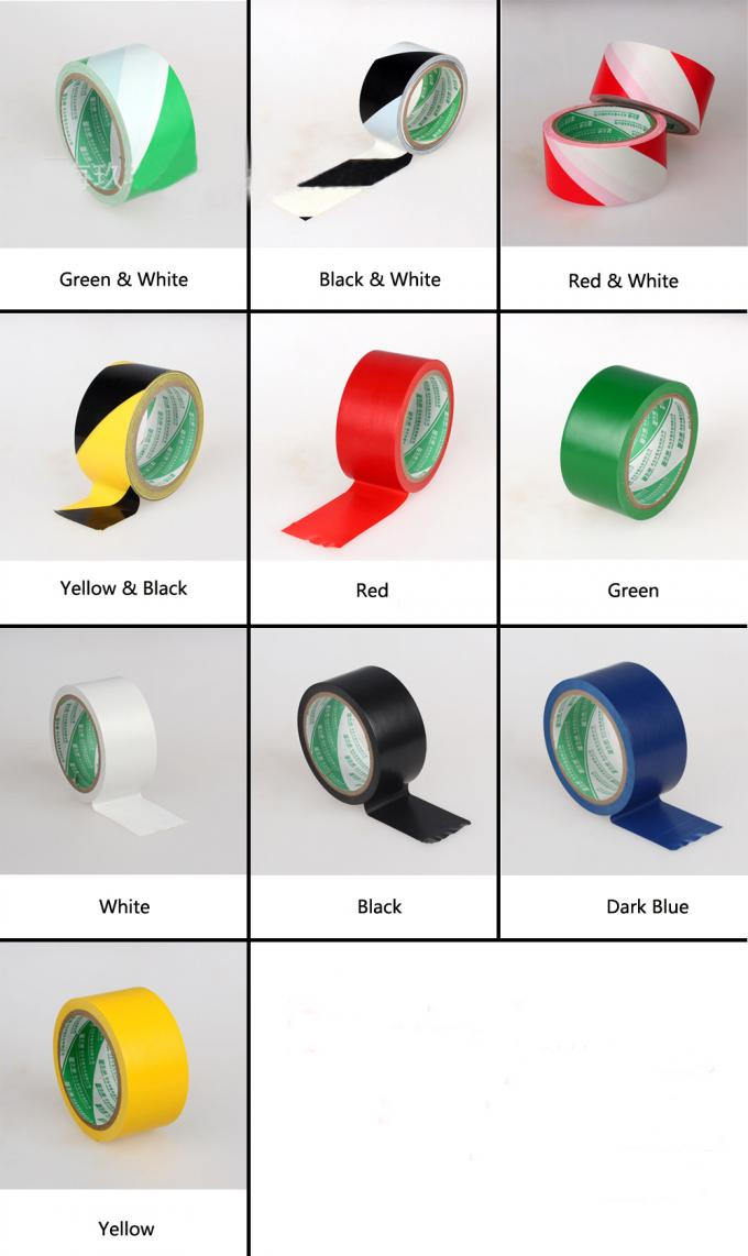 Colorful Danger Underground PE Warning Tape Electrical Cable Below