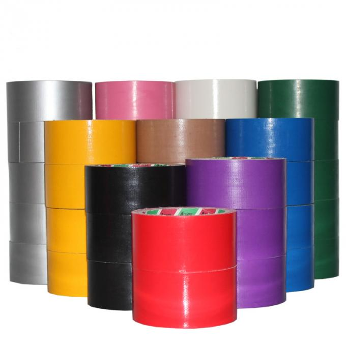Cool Cloth Duct Tape , Cloth Sticky Tape For Cargo Seaming 12-72mm Width