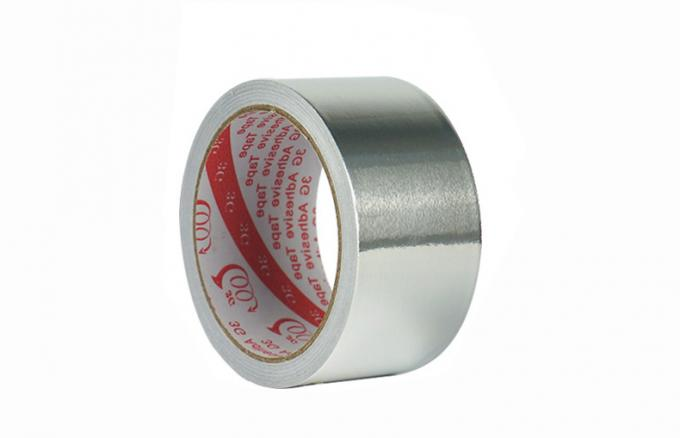 Reinforced Aluminum Foil Tape 3.3mils Single Side Aluminum Tape Heat Resistance