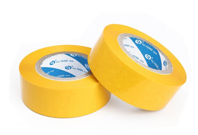 Waterproof Personalised Packaging Tape , Color Coding Tape For Carton Edge Banding