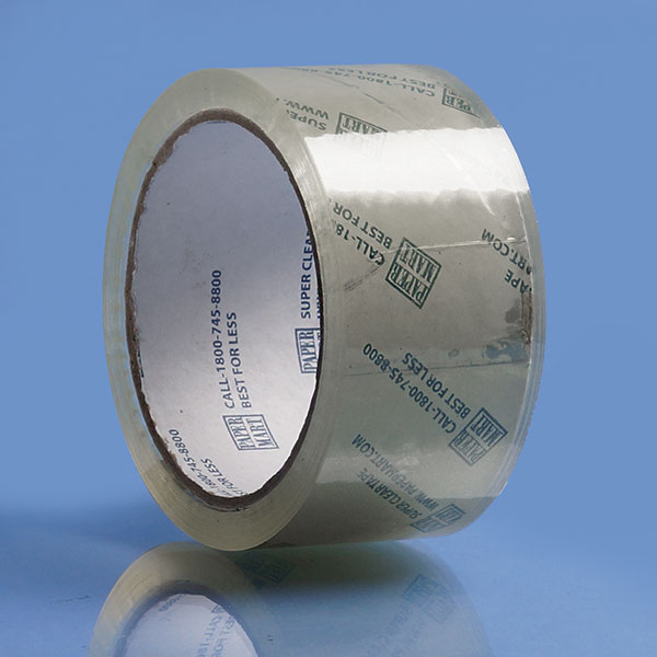 "2"" x 110YDS Crystal  Clear Acrylic Adhesive Bopp Packing Tape For Carton Sealing"