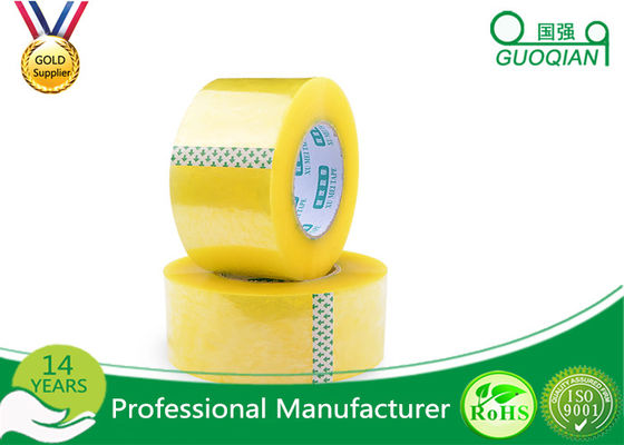 Security Adhesive BOPP Packaging Tape , Waterproof Sticky Tape Long Lasting