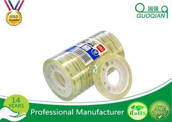 Clear Bopp Stationery Tape For Office Paper Sealing 5-100m Length