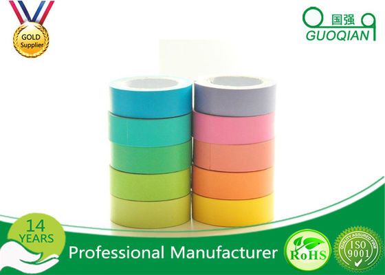 China Coloured Printed Parcel Tape , Transparent Bopp Tape For Paper Sealing supplier