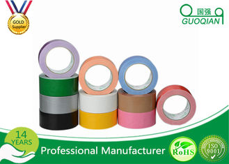 China Fabric Decorated Duct Tape Thickness 1-100mic , Patterned Duct Tape Waterproof supplier