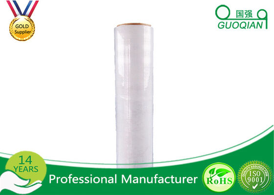 High Transparency Custom Packaging Stretch Wrap Film 17mic Thickness