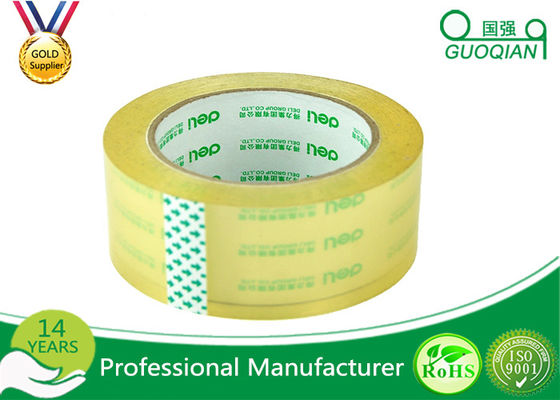 Strong Sticky Transparent Crystal Clear Tape BOPP Reinforced Packaging Tape