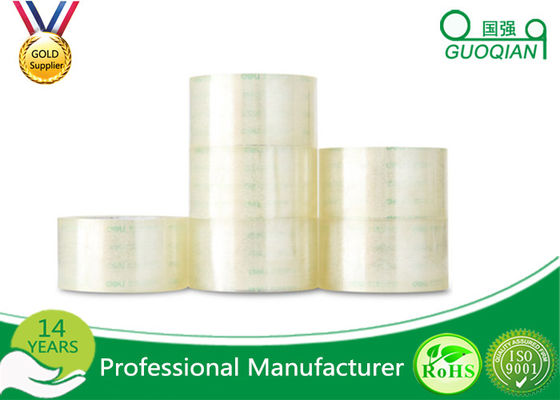 Permanent Carton Sealing Tape , 50mm Silent Custom Printed Tape Water Activated
