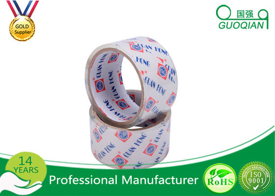 Pure Wide Clear Packaging Tape Environment Protection High Adhesive 48mm X 30m