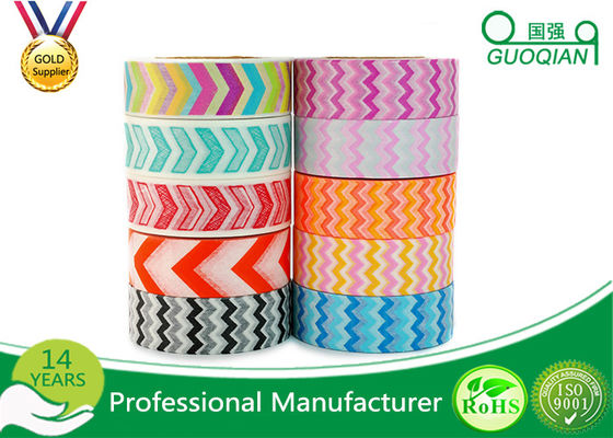 China Scrapbooking Writing Custom Printed Washi Tape Waterproof Environment Friendly supplier