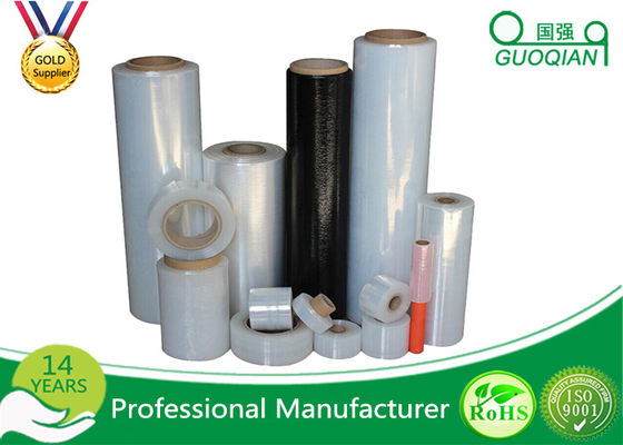Shrink Stretch Wrap Film Pallet 20mic Thickness Non Adhesive For Building Materials Package