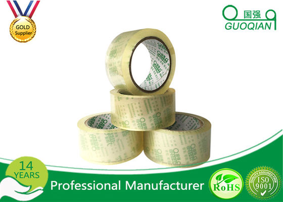 Single Sided  Adhesive Crystal Clear BOPP Packing Tape for Carton Sealing