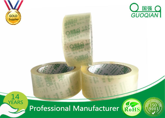 Fantastic Crystal Clear Tape Water Based Acrylic BOPP Tape With Box Packing