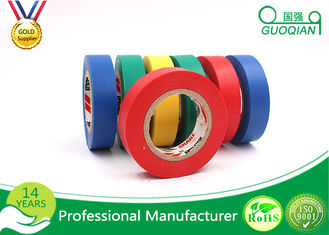 Flame Retardant Single Side Adhesive PVC Electrical Tape , Width 1-4 Cm