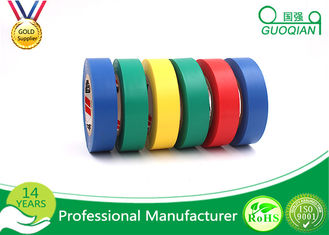 Adhesive Insulation Masking PVC Multi Colored Electrical Tape Heat - Resistant