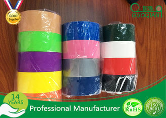 Multi Color Adhesive Cloth Duct Tape For Masking / Decoration