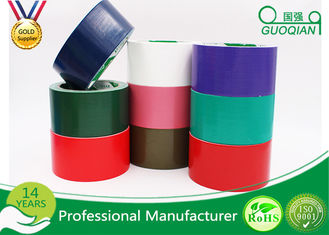 Waterproof Sticky Rubber  Adhesive Cloth Duct Tape Roll , Thickness 0.13mm - 0.44mm