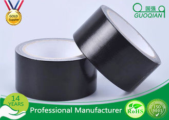 Black Color PE Coated Economy Cloth Duct Tape 60 Yds Length Waterproof Duct Tape