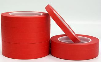 Heat-resistant Strong Adhesion Colored Masking Tape / Red Duct Tape