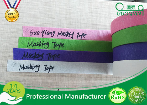 Colored Crepe Paper without Residue Rubber Masking Tape 30m 48m Length