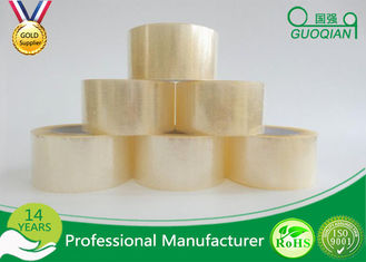 Clear Shipping Storage Box BOPP Sealing Tape Single Sided ISO SGS