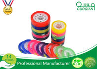 China Custom Colorful Sticky BOPP Stationery Tape Water based For Office Sealing company