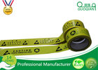 Underground Caution PE Warning Tape Double Color with Strong Adhesive