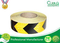 China 5 CM x 25 M Reflective Safety PE Warning Tape Sticker Roll Film for Trailer / Camper company