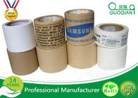 China Industrial Reinforced Fiber Gummd Kraft Paper Tape With Logo Printed 2 Inch x 60 Yards company
