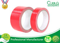 China Multi - Purpose Red Duct Tape 6 Rolls/Set Water Resistant Duct Tape Rubber Adhesive company