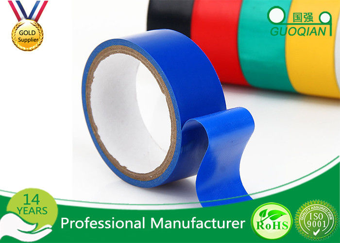 Blue PVC Waterproof Insulation Tape Electrical , High